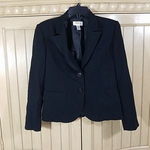 Talbots Petites Black Tailored Blazer, sz 6P